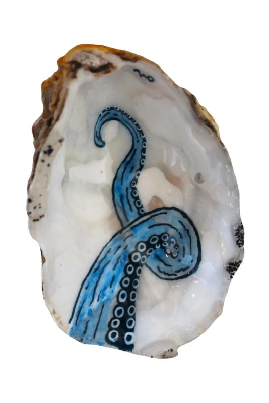 Fine octopus arm