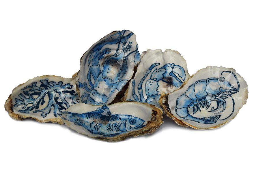 Zeebanket Zeeuws Blauw Oesters