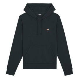 Umbrella Men's Hoodie | Black