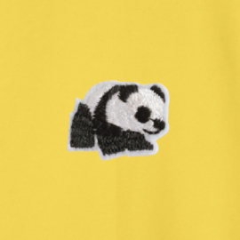 Panda Men's Sweater | Yellow