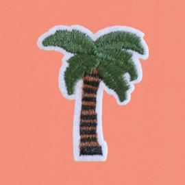 Palm Tree Tee | Coral