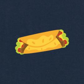 Burrito Tee | Navy