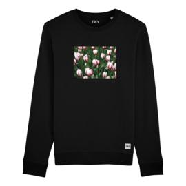 Flower Field Sweat | Black