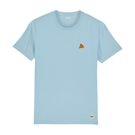 Pizza Tee | Sky Blue