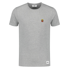 Fries Tee | Grey Mêlee