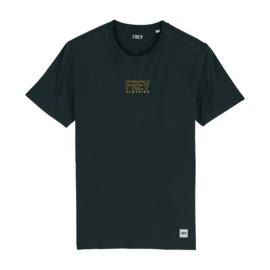 Open Logo Tee | Black