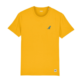 Dinosaur Tee | Yellow
