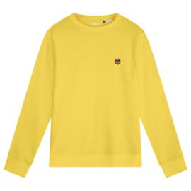 Rubik's Cube Women's Sweater | Yellow
