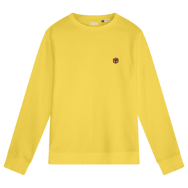 Rubik's Cube Men's Sweater | Yellow