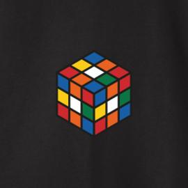 Rubik's Cube Men's Sweater | Black