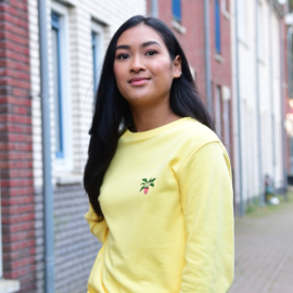 Plant Women's Sweater | Yellow