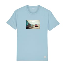 Beetle Tee | Sky Blue