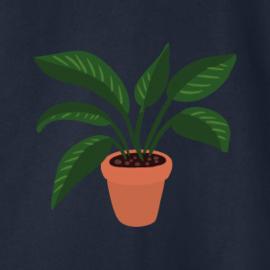 Plant Women's Sweater | Navy
