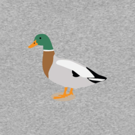 Duck Men's Hoodie | Grey Melee