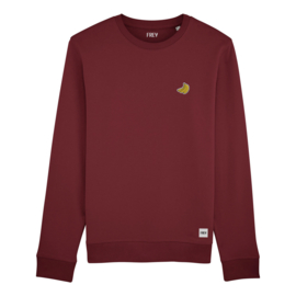 Banana Sweat | Burgundy