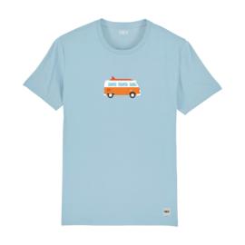 Camper Tee | Sky Blue