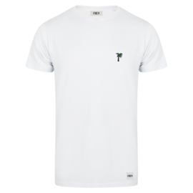 Palm Tree Tee | White