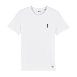 Tee Cactus | White