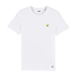 Avocado Tee | White