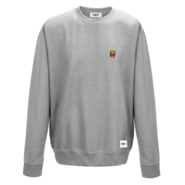 Fries Sweat | Grijs Gemêleerd
