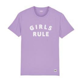 Tee Girls Rule | Lavender
