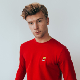 Fries Sweat | Red