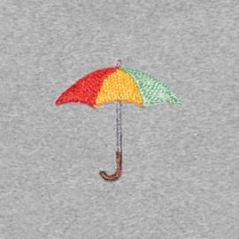 Umbrella Women's Hoodie | Grey Melee