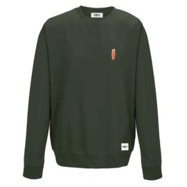 Carrot Sweat   Olijf Groen