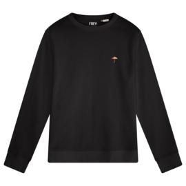 Umbrella Men's Sweater | Black
