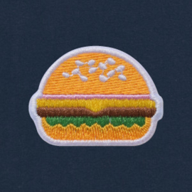 Burger Tee | Navy