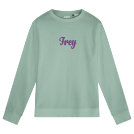 Handwriting Women's Sweater | Sage