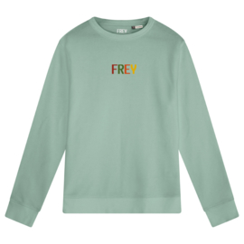 Colored Logo Women's Sweater | Sage