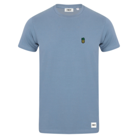 Pineapple Tee | Stone Blue