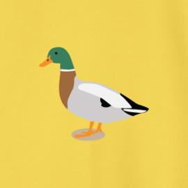 Duck Men's Sweater | Yellow