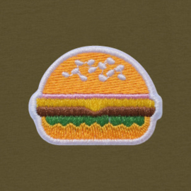 Burger Tee | Khaki