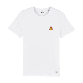 Tee Pizza | White