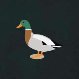 Duck Men's Hoodie | Black