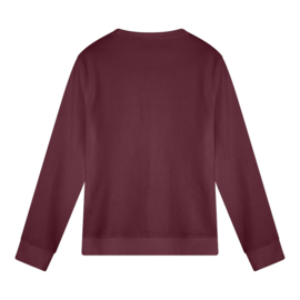 Scrabble Women's Sweater | Burgundy