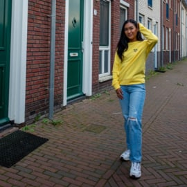 Plant Women's Sweater | Yellow