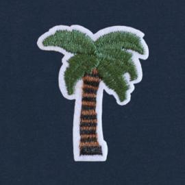 Palm Tree Tee   Navy