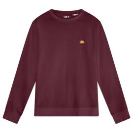 Coffee Women's Sweater | Burgundy