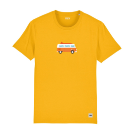 Camper Tee | Yellow