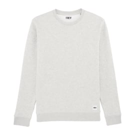 Basic Sweat | Cream Heather Grey