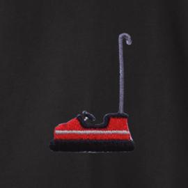 Bumper Car Men's Sweater | Black