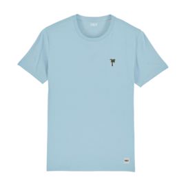 Palm Tree Tee | Sky Blue