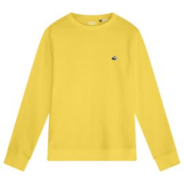 Panda Men's Sweater | Yellow