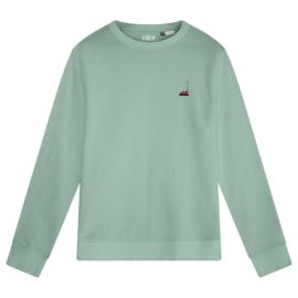 Bumper Car Men's Sweater | Sage