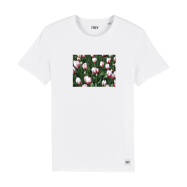 Tee Flower Field   White