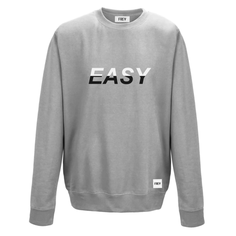Easy Sweat | Grijs Gemêleerd