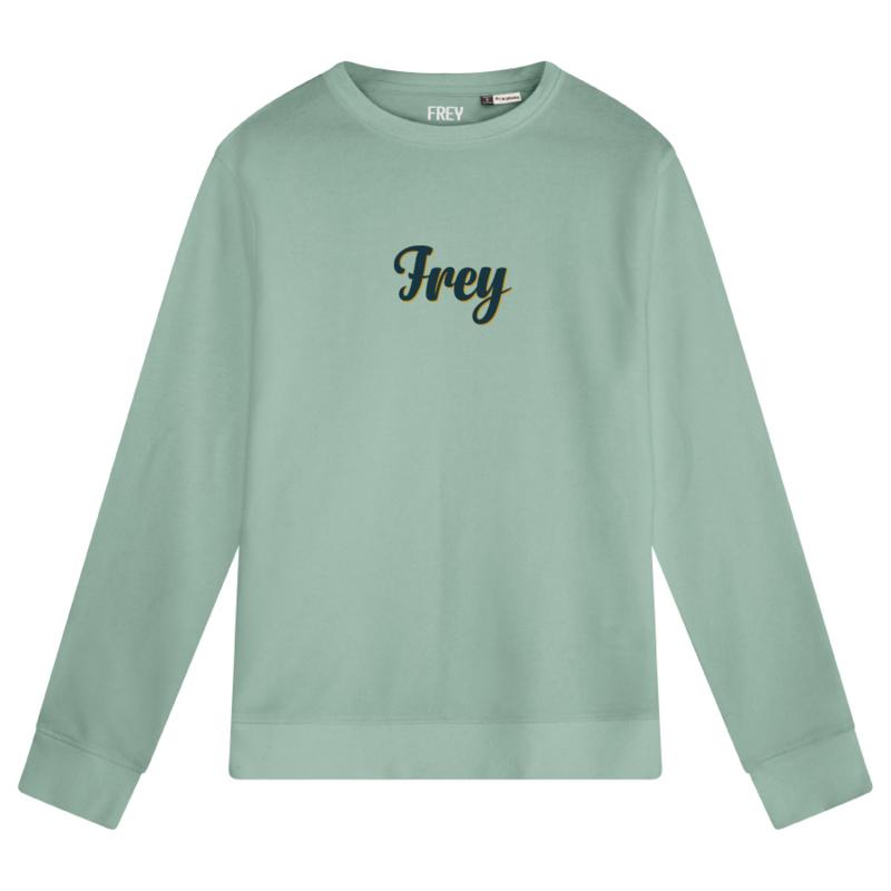 Handwriting Men's Sweater | Sage